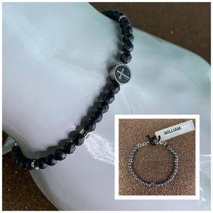 William Rast Stainless Steel Bracelet (unisex)